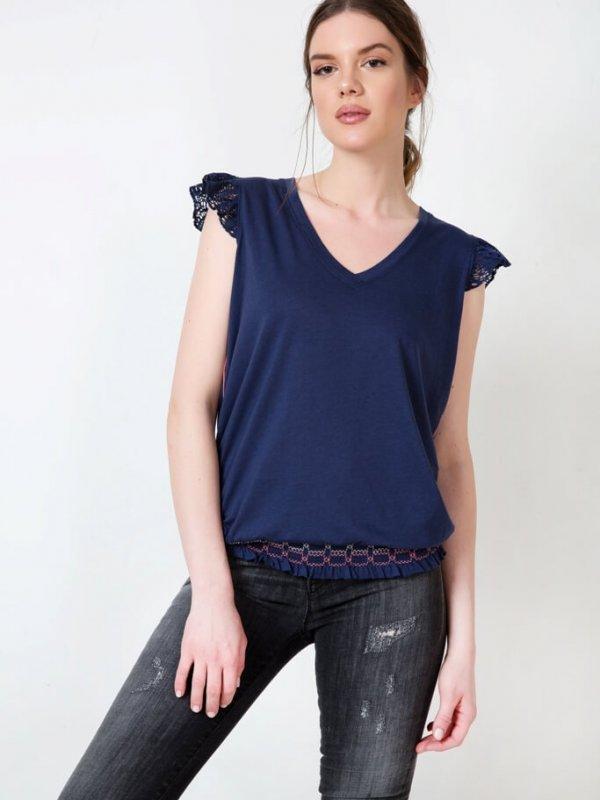 Μπλούζα με Λάστιχο γυναικείες μπλούζες ωραιόκαστρο θεσσαλονικης