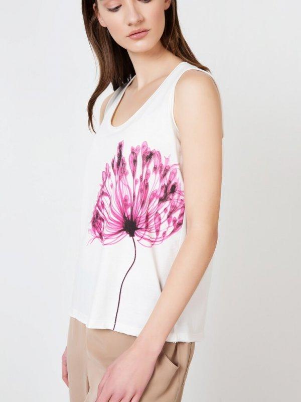 Μπλούζα Αμάνικη με τύπωμα γυναικείες μπλούζες στη θεσσαλονικη