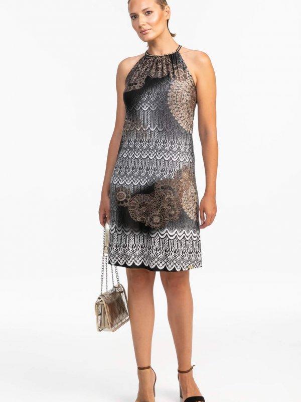 Φόρεμα εμπριμέ 1