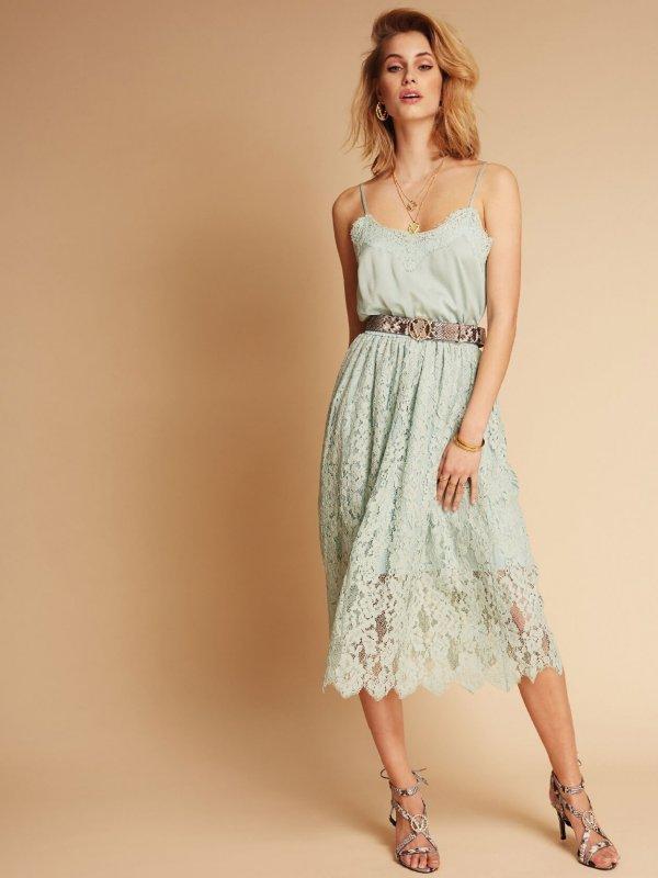 Φόρεμα Τιράντα με Δαντέλα