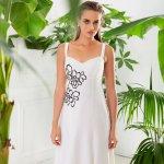 Λευκό Φόρεμα με Τιράντα | Γυναικεία Ρούχα | Ωραιόκαστρο Θεσσαλονίκη