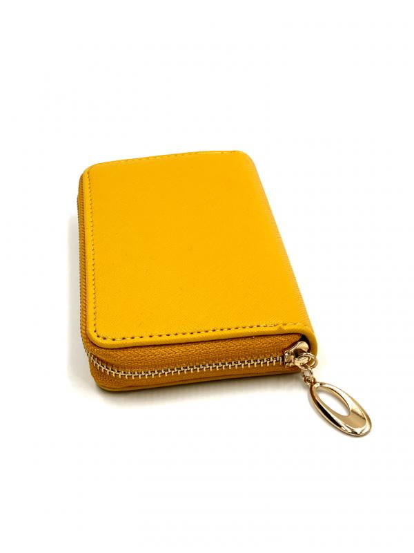 Πορτοφόλι με χρυσό φερμουάρ 1