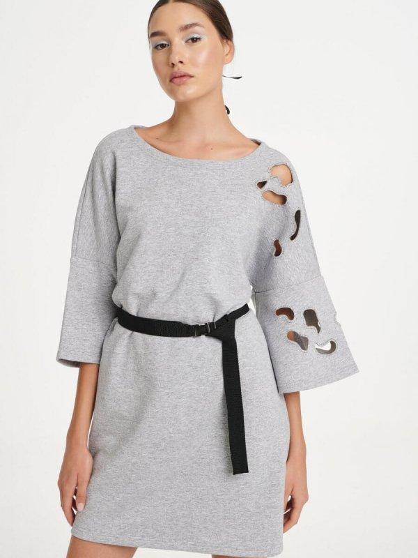 Φόρεμα με Κοψίματα Laser 1