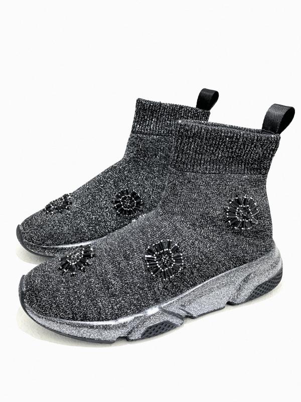 Sneaker μποτάκι τύπου κάλτσα 1