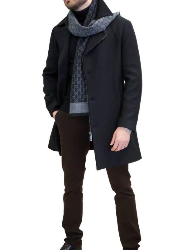 Παλτό μάλλινο με γιακά 1