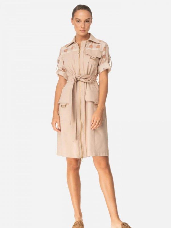 Φόρεμα καμπαρντίνα 1