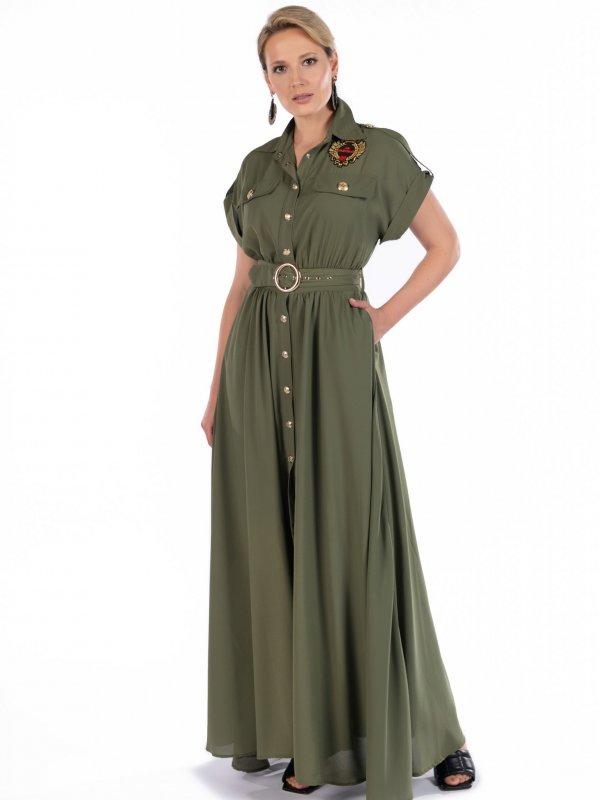 Φόρεμα μάξι 2 αποχρώσεις 1