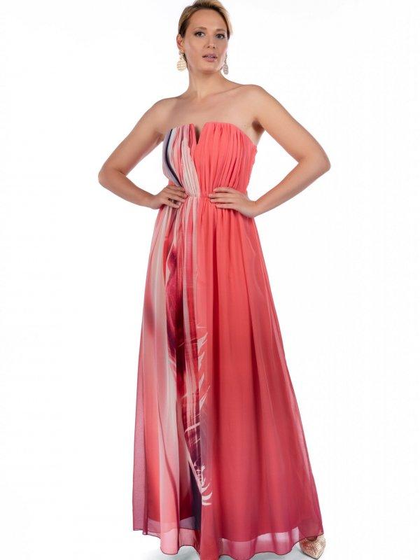 Φόρεμα στράπλες 1